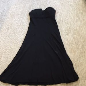 Small black strapless narcisco rodriguez dress